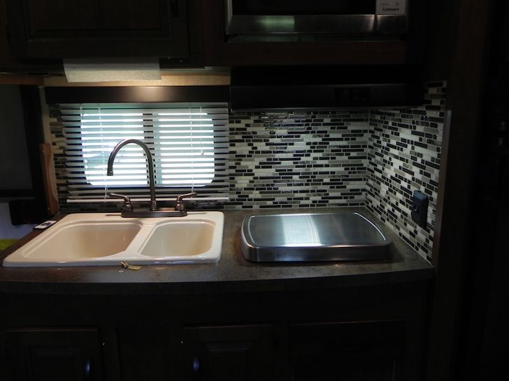 Lightweight Adhesive Tiles Stick Right To Your Camper S Walls And Can Instantly Improve Any Kitchen Or Bathroom Backsplash Area