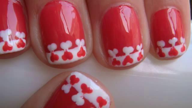 letvc - valentine's day nails design