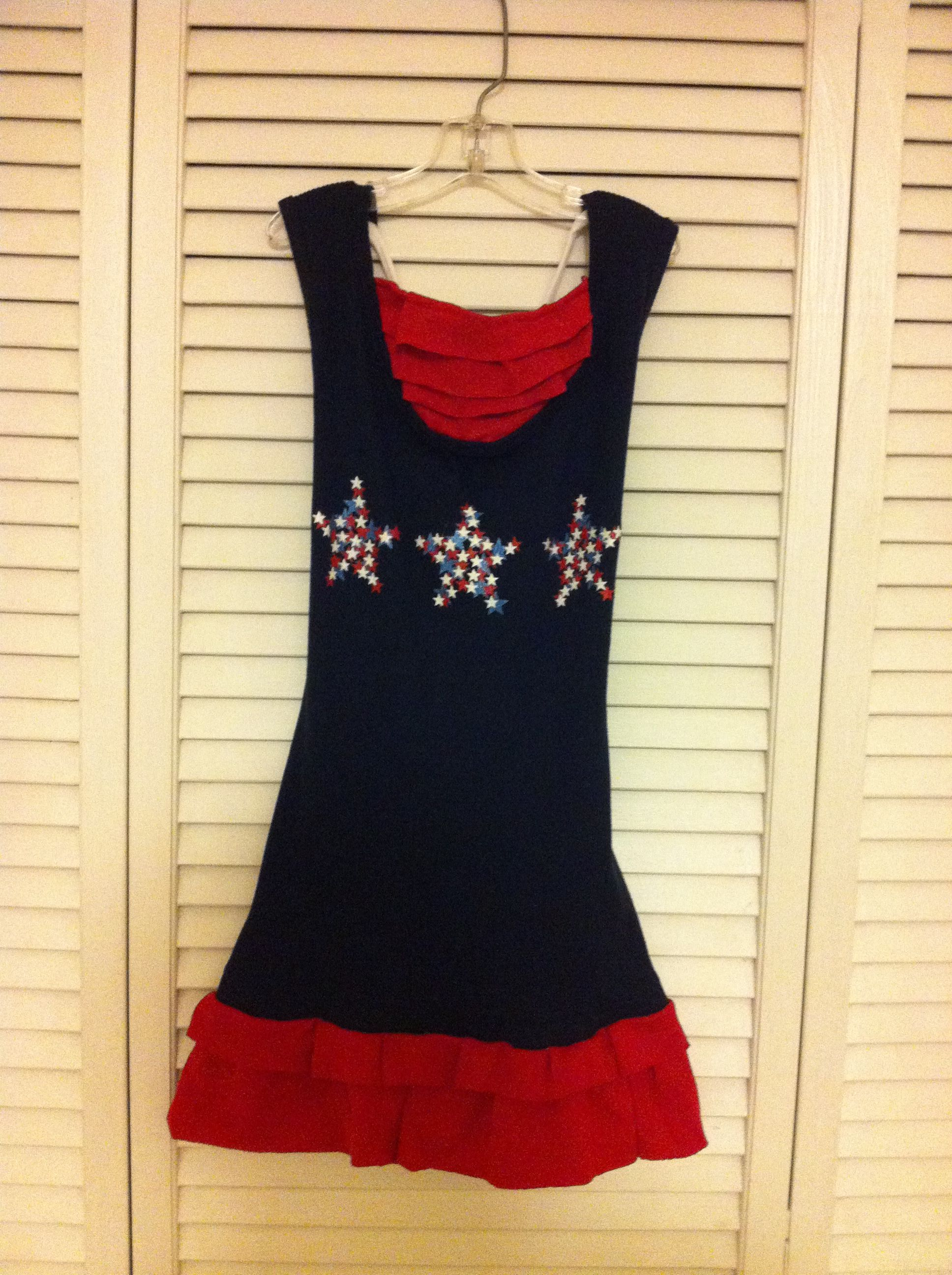 how to make a tank top dress