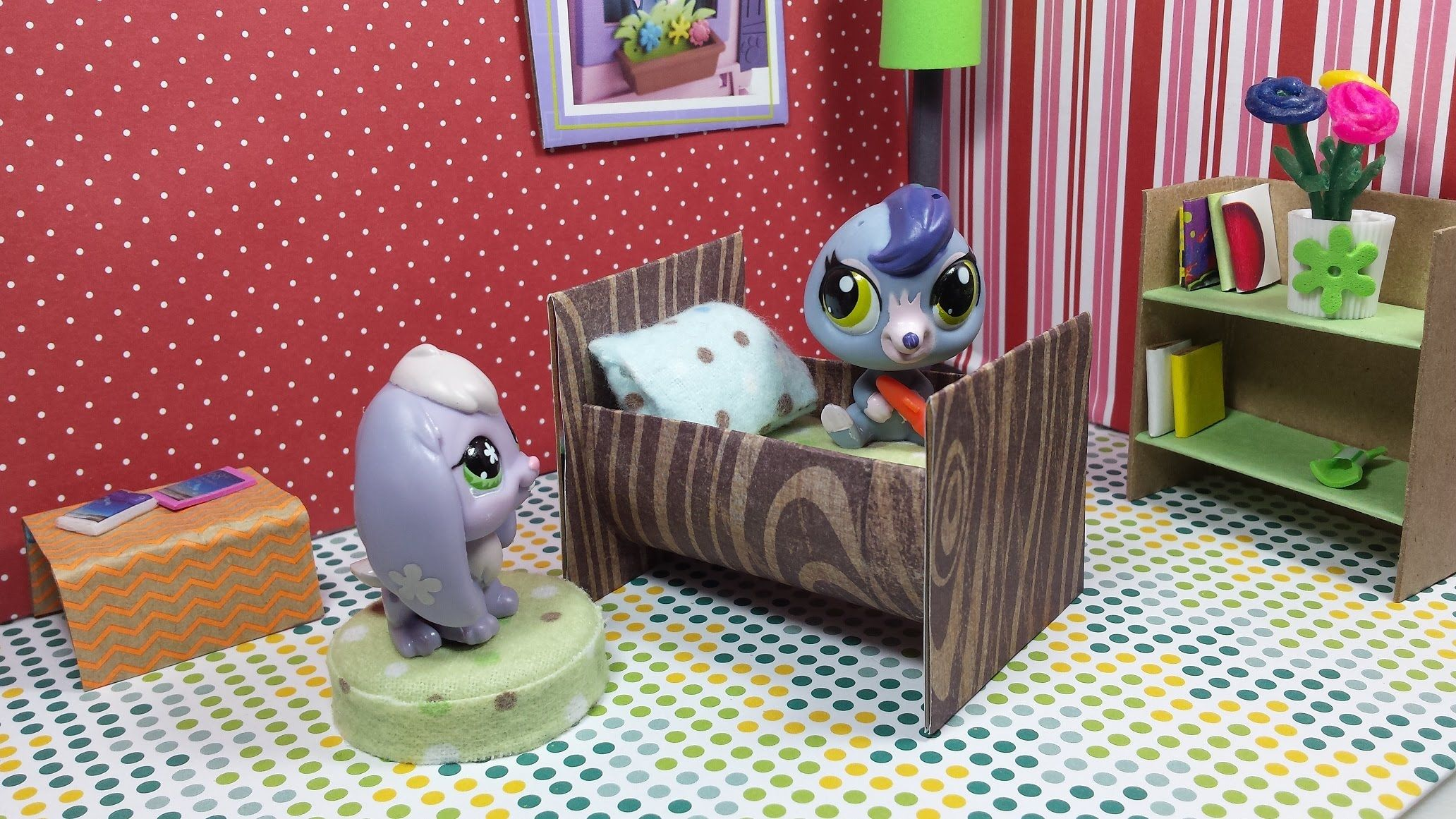 How To Make A Lps Tiny Crib Cradle Dollhouse Furniture