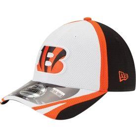 best website 430a6 68b05 New Era Men s Cincinnati Bengals 2014 Training Camp 39Thirty White Flex Fit  Hat - Dick s Sporting Goods