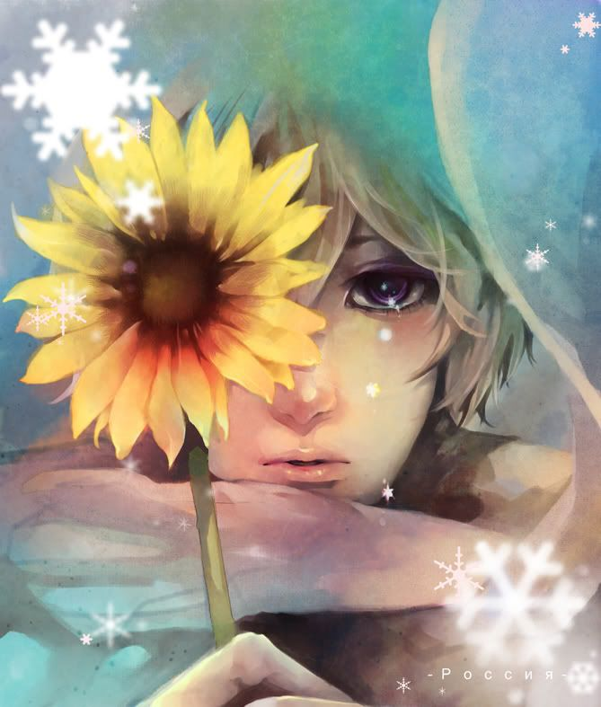 Russia...He looks so sad, cute and innocent that I just want to give him a hug!!! <3 ~ Foxina's image #Hetalia