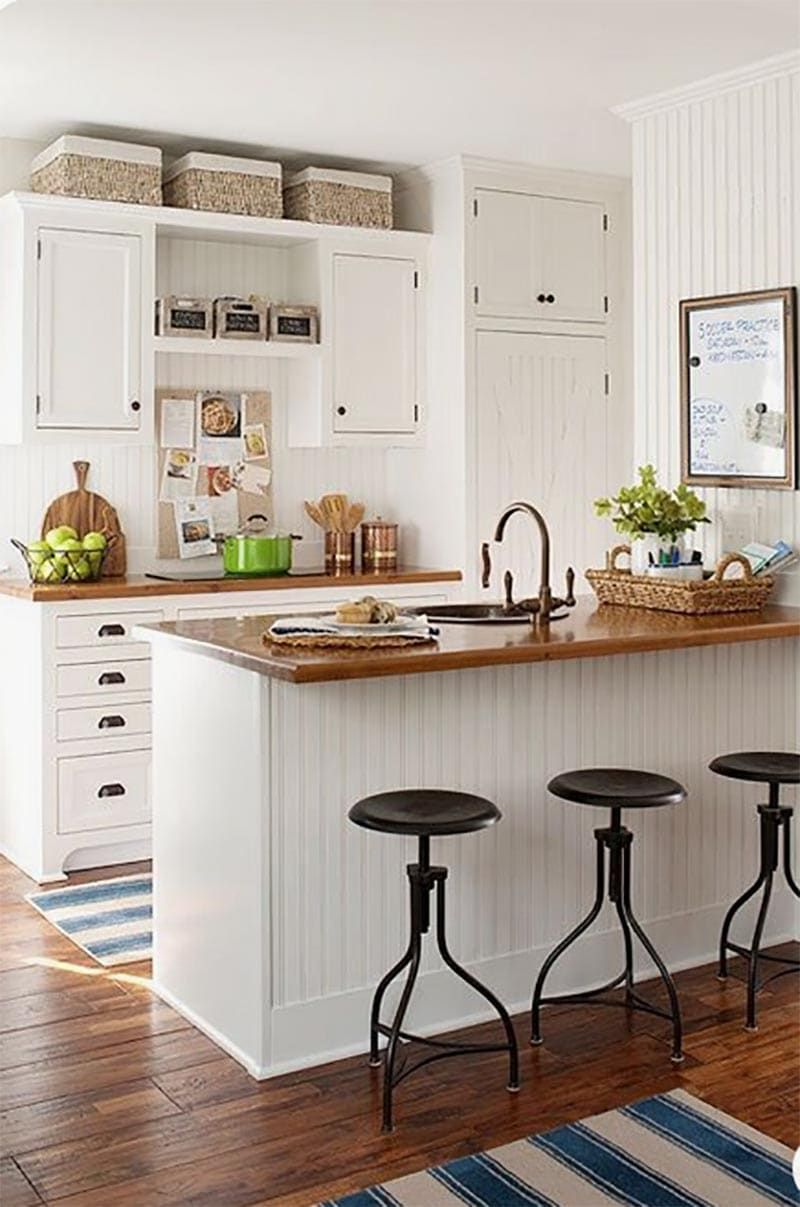 Adding Farmhouse Charm by Decorating With Baskets - The ...