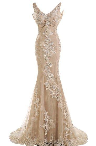 Sheath Half Sleeve Off The Shoulder Appliqued Maxi Chiffon Prom Dress Gowns Dresses Fancy Dresses Dresses