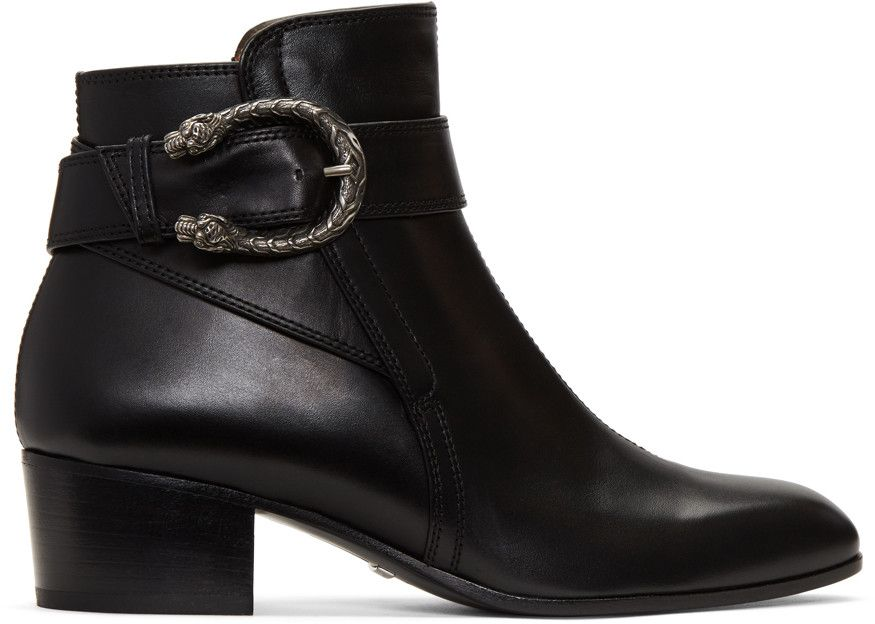 61cf50bd16a GUCCI Black Dionysus Boots.  gucci  shoes  boots High Ankle Boots