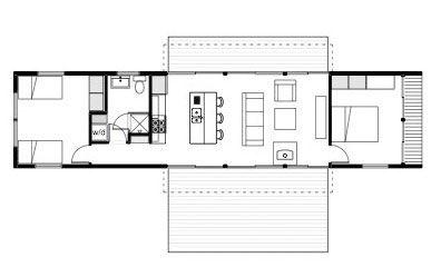 My Prefab Floorplan Minus The Kitchen Island My Prefab