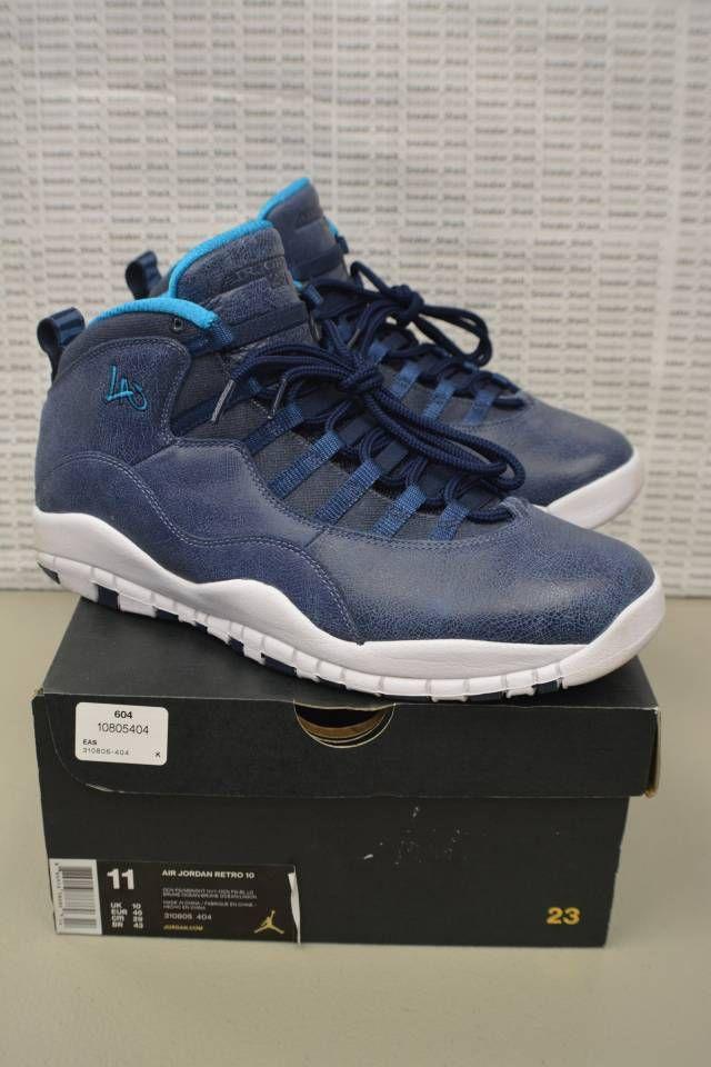 best authentic 892bc e6323 Nike Air Jordan Retro 10 LA 310805 404 Size 11 NDS GREAT ...