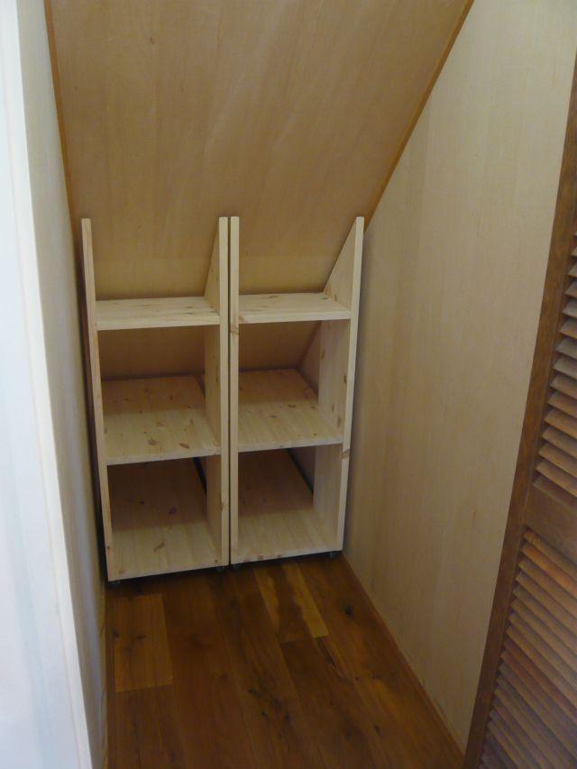 階段下に収納棚を作りました♪ Tidy Amp Organised Closet Under Stairs