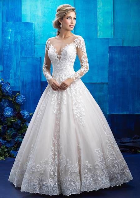 tendencias novias 2017: vestidos de corte princesa | 500 vestidos