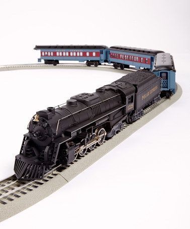 Take a look at this The Polar Express Train Set by Lionel ...