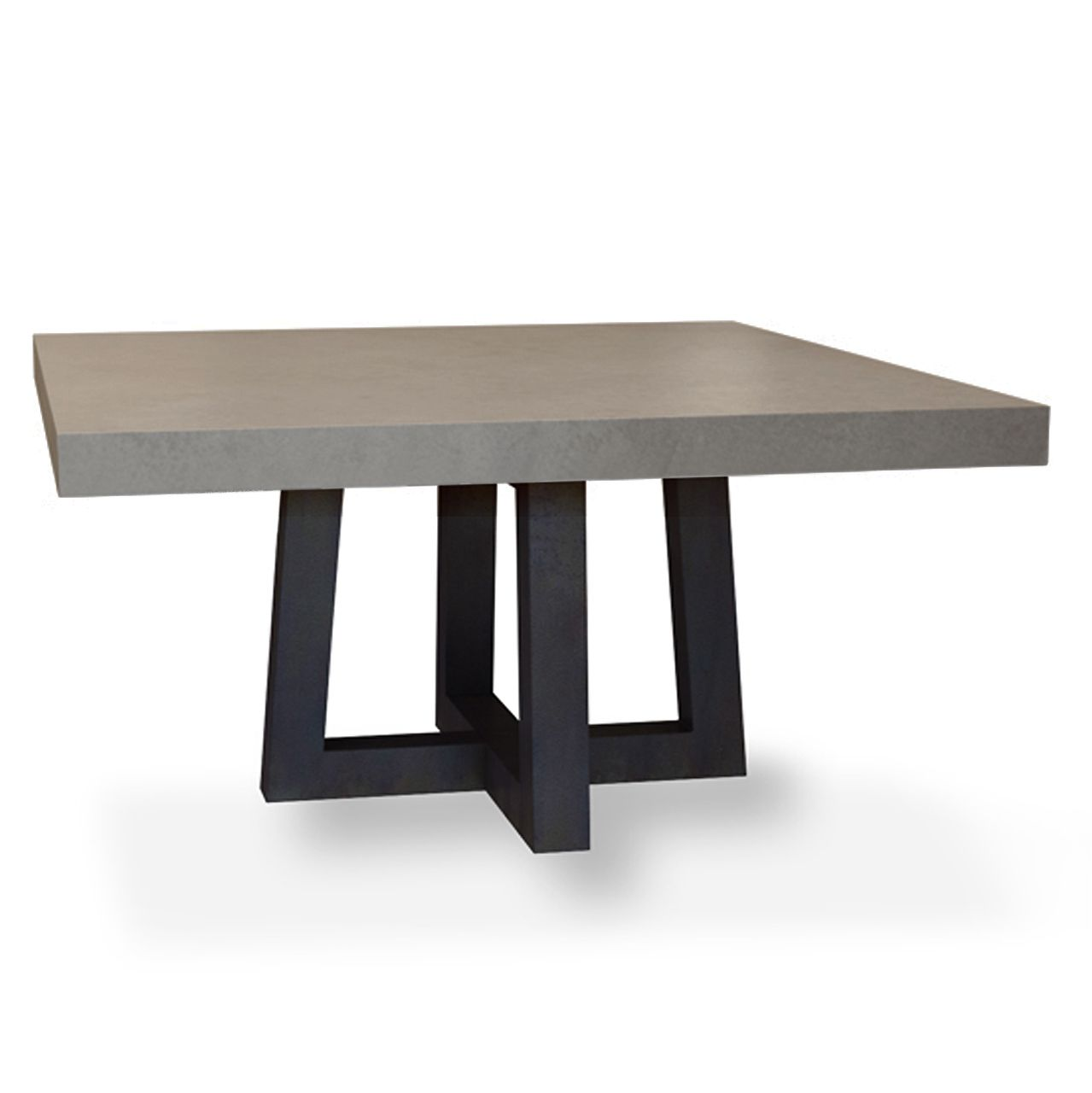 Torre Square Concrete Dining Table Concrete Dining Table Square