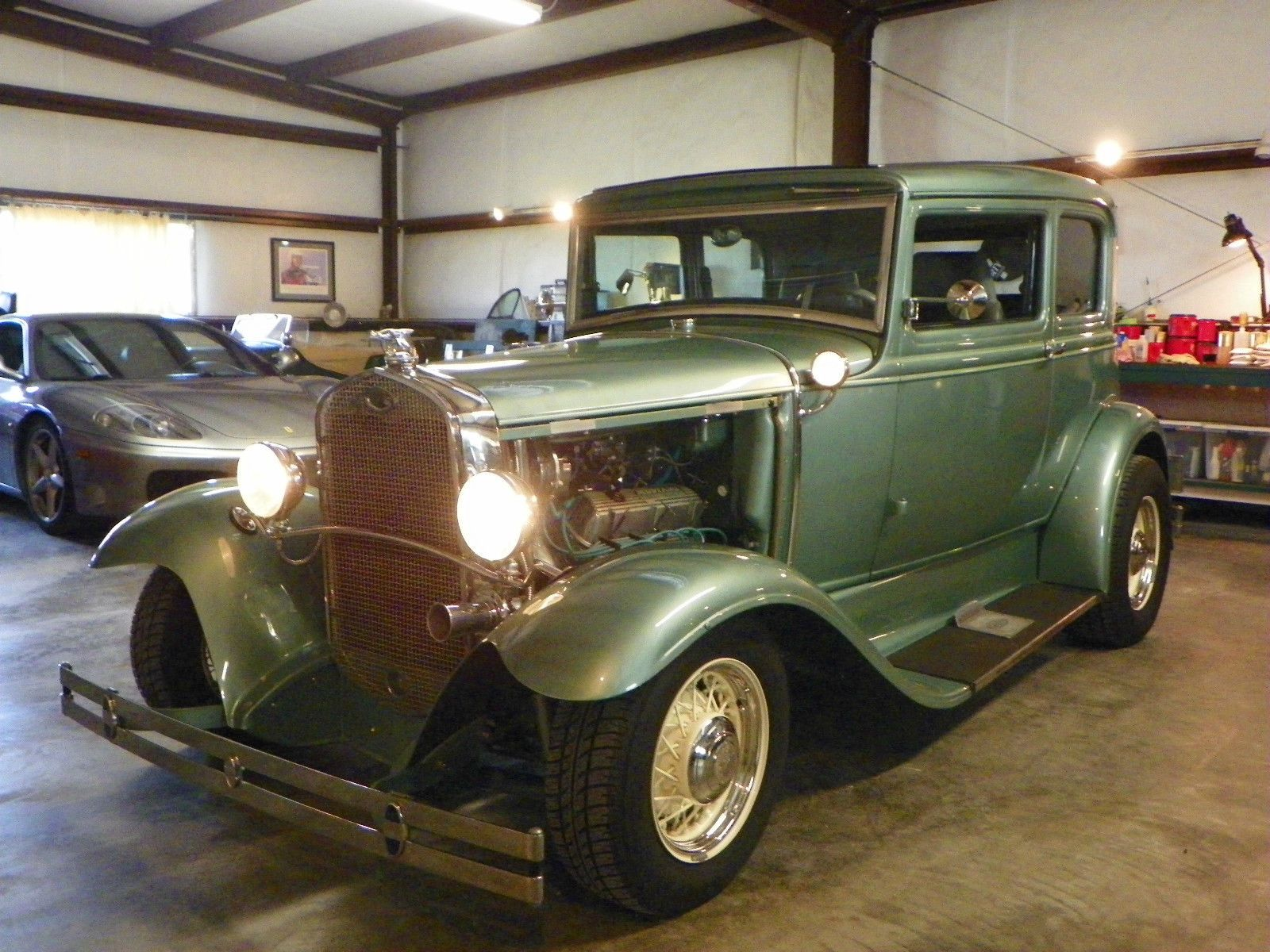 Custom frame 1931 Ford Model A HOT ROD SEA FOAM GREEN | Hot rods for ...