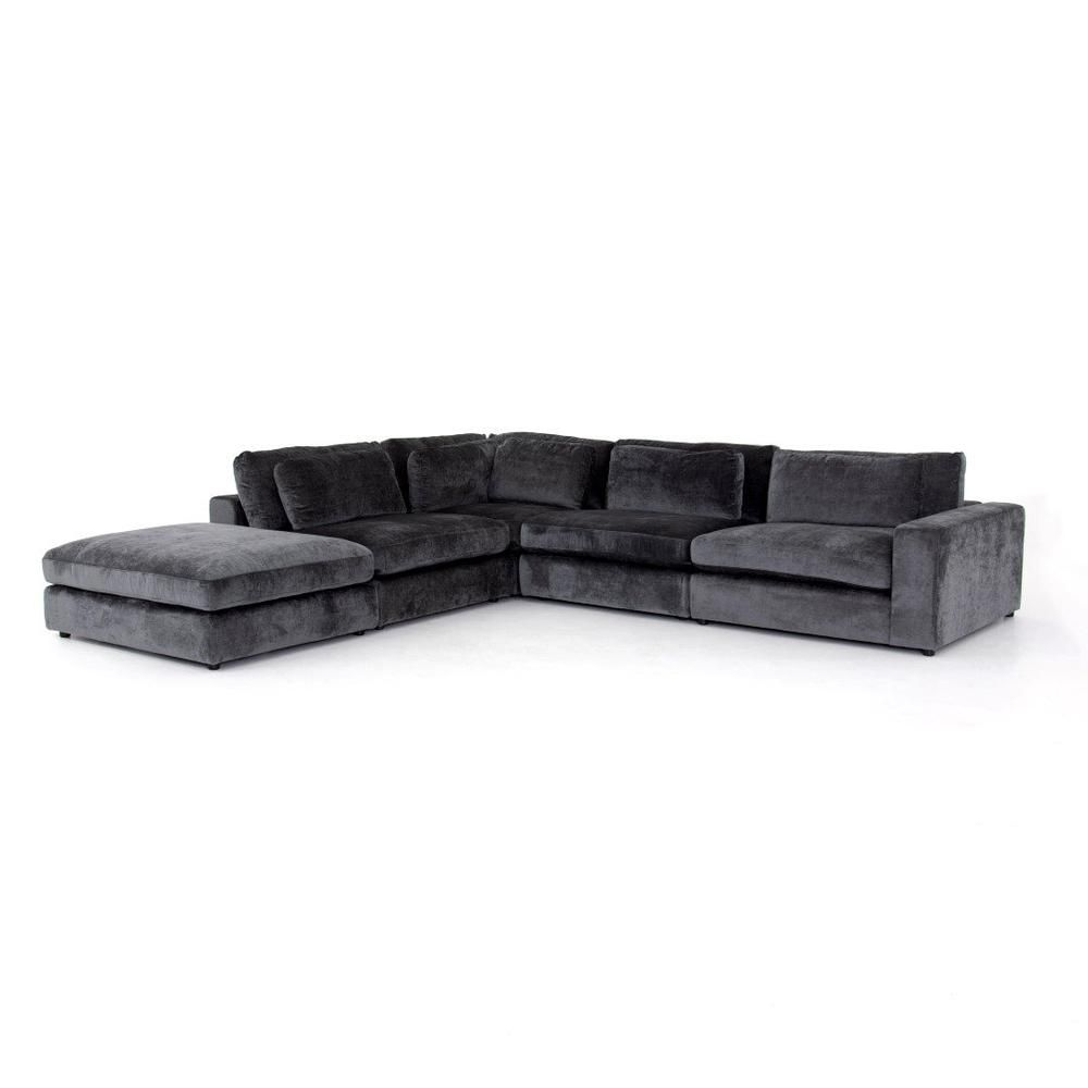 Blaire Sectional In 2021 Sectional Ottoman Modern Classic