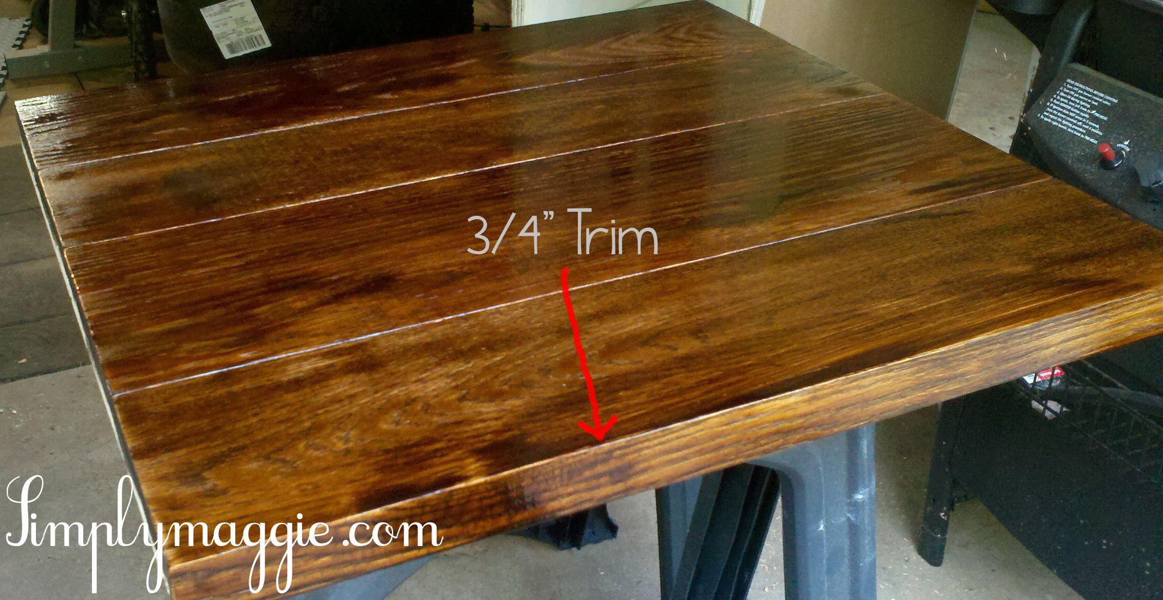 DIY Wide Plank Butcher Block Counter Tops   simplymaggie.com ...