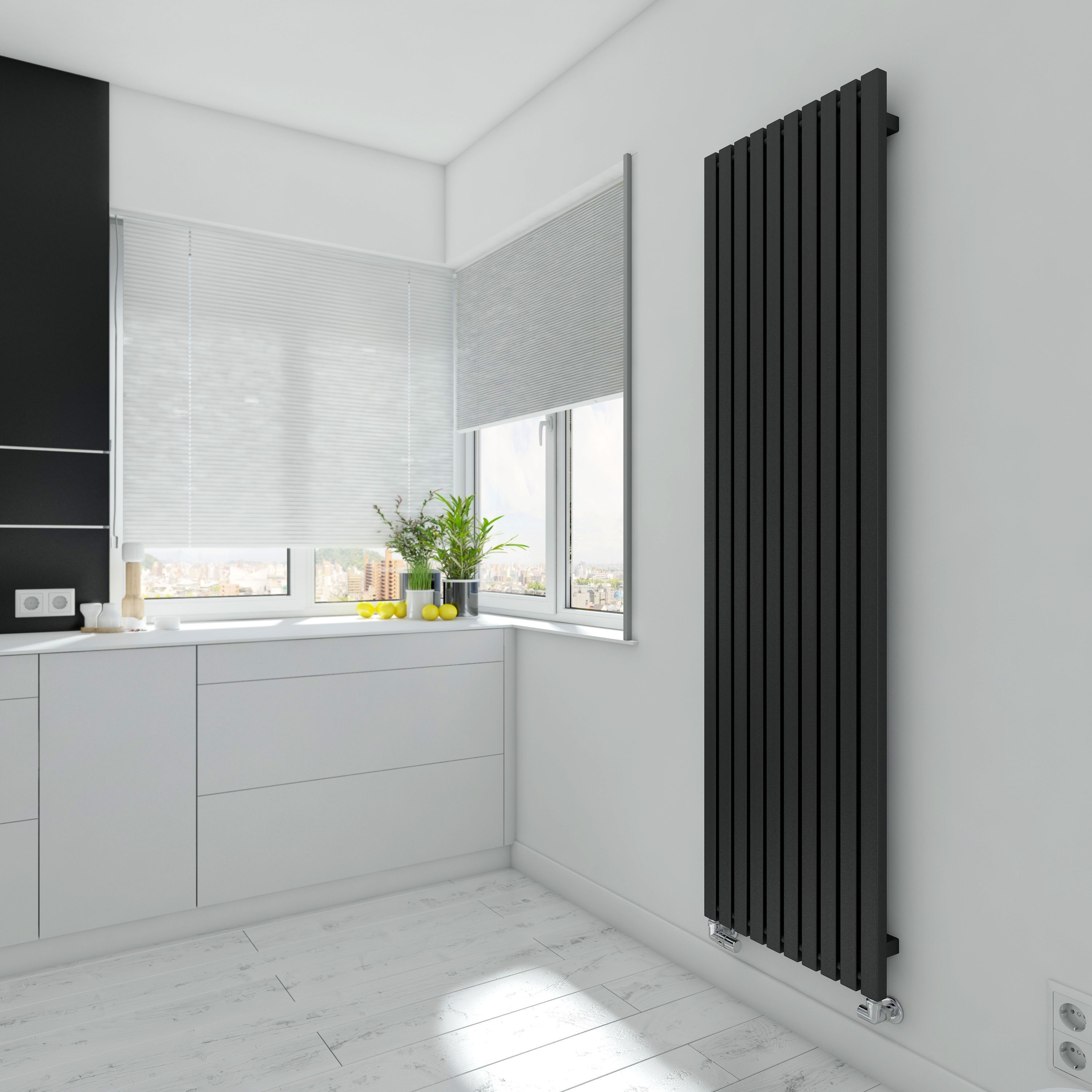A great designer radiator should match the style of interior like