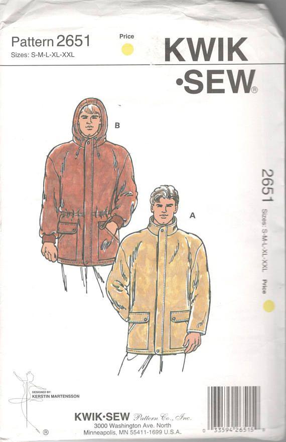 Fantastisch Kwik Sew Pattern 2335 Fotos - Schal-Strickende Muster ...