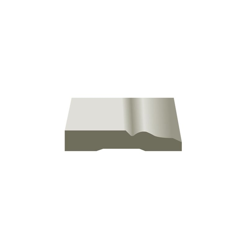 Hume 140 x 18mm x 5 4m Primed MDF Colonial Moulding | House