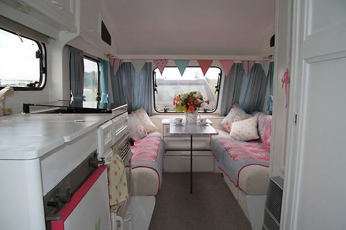 Shabby chic style berth elddis touring caravan must see ebay same as ours hope also rosemary marshall sambubby on pinterest rh