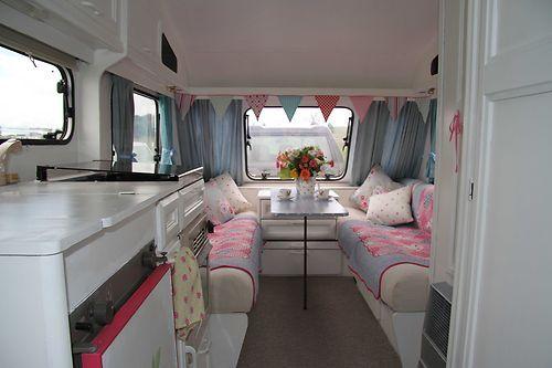 Details about shabby chic style 4 berth elddis touring - Interior caravana ...