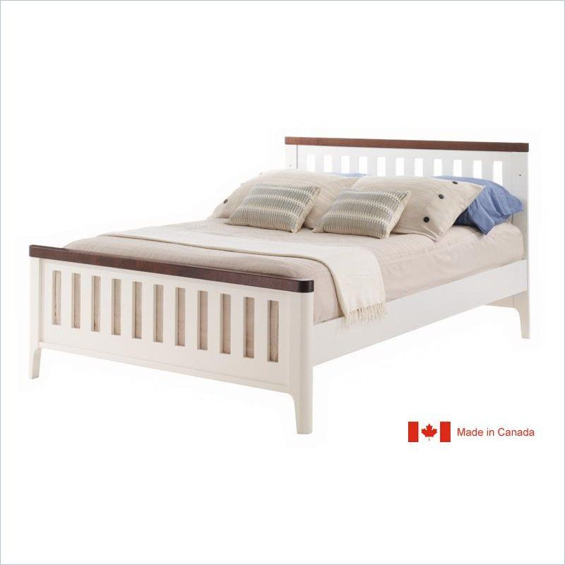 Tulip Piccolo 4 In 1 Convertible Crib In Java And French White