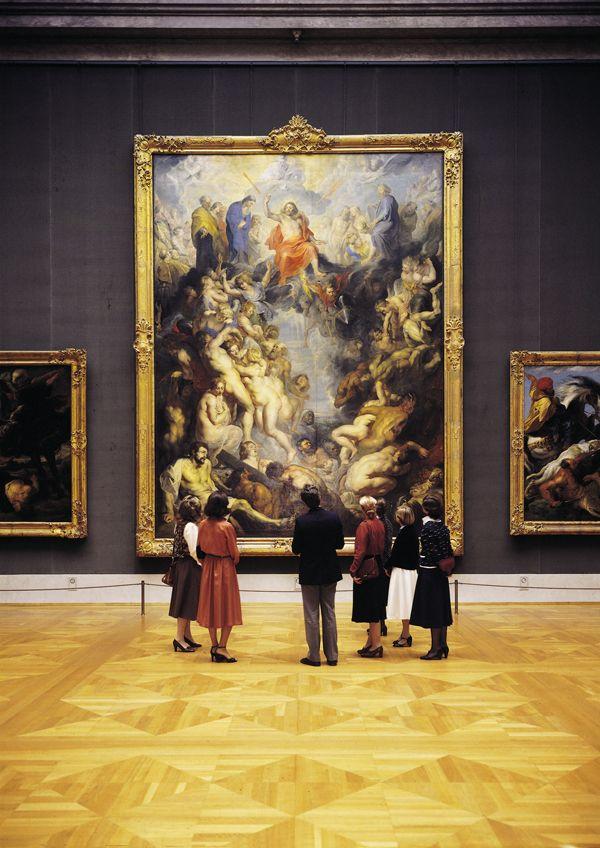 Alte Pinakothek The Last Judgement Peter Paul Rubens 1617 Visit Alte Pinakothek Old Picture Gallery In Muni Peter Paul Rubens Art Gallery Art History
