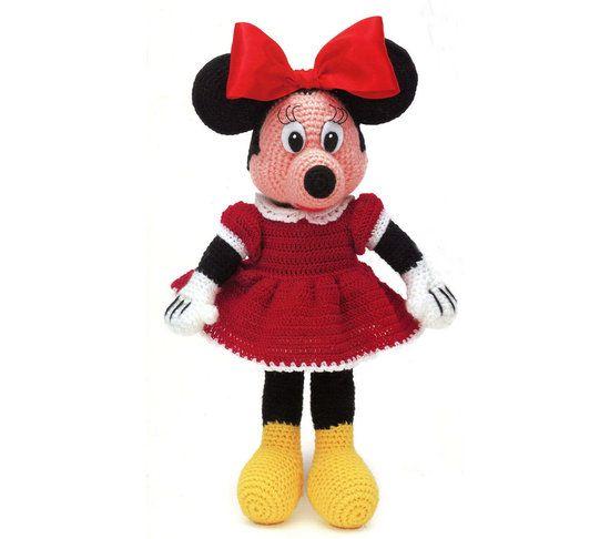 Disney Minnie Mouse Crochet Pattern Instant Download 30 Dolls