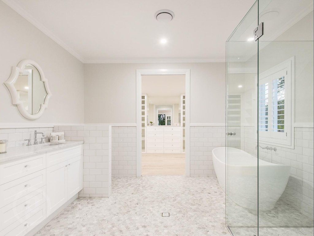 Queenslander Bathroom Designs stunning hamptons/queenslander-style home in brisbane | dressing