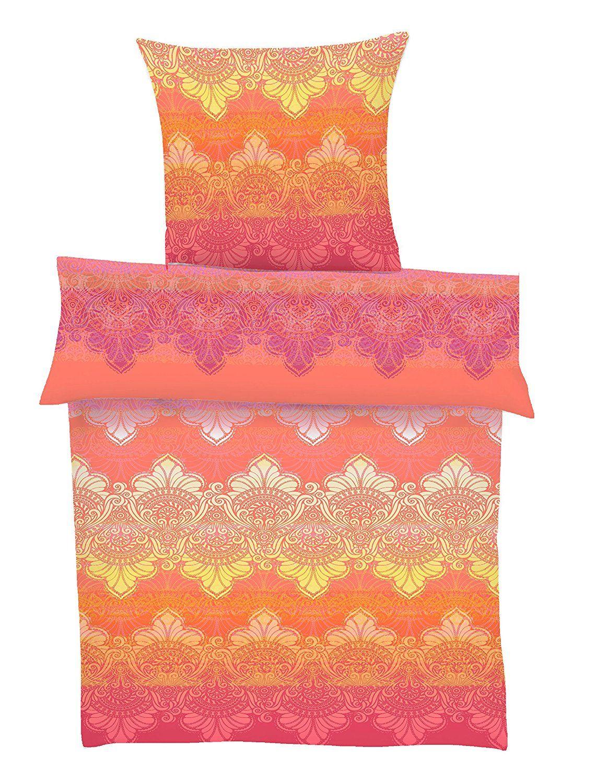 Ibena 5709220 135 X 200 Cm Mako Satin Bed Linen 135 X 200 Cm Summer