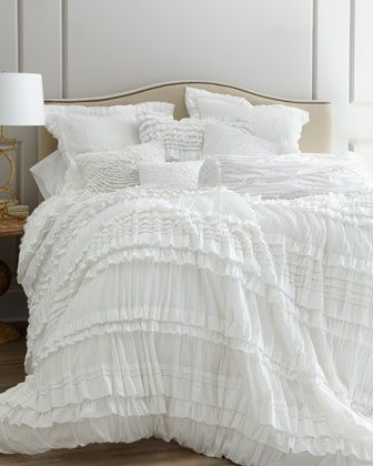 """""""Flores"""" Bed Linens at Neiman Marcus."""