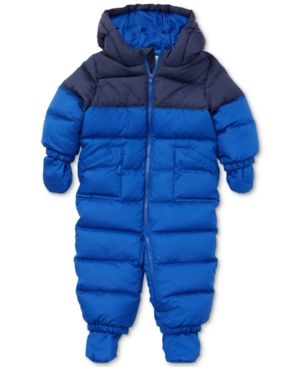 867440912 Ralph Lauren Baby Boys Quilted Down Jacket - Rugby Royal 3 months ...