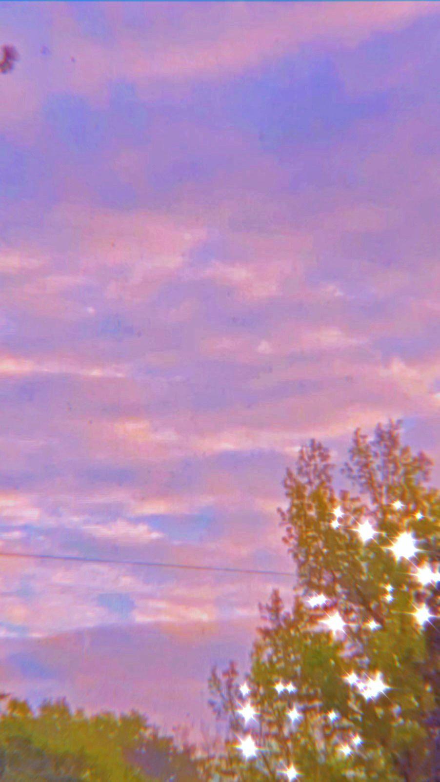Outside Aesthetic Sparkle Wallpaper Pastel Pink Aesthetic Aesthetic Iphone Wallpaper