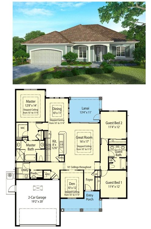 Plan 33007ZR: 3 Bed Super Energy Efficient House Plan ...