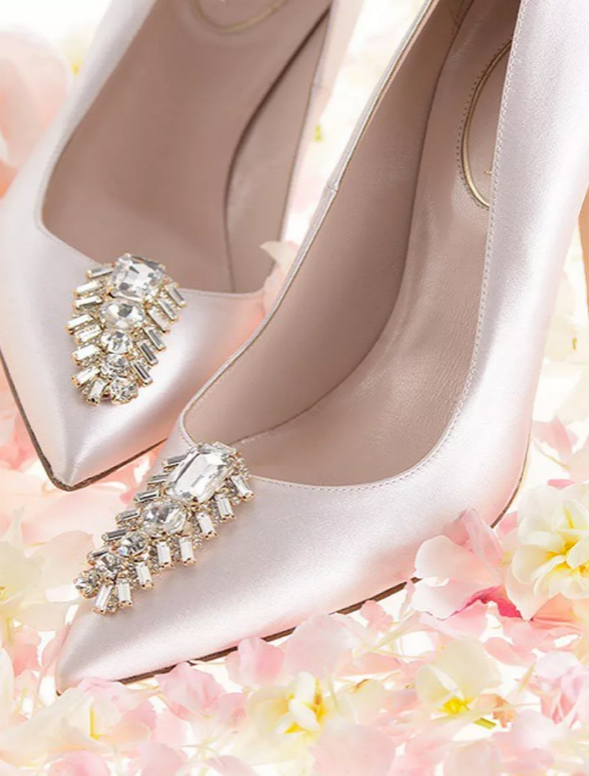 You Ll Want To Wear Sjp S New Bridal Shoe Collection Even If You Re Not Getting Hitched Fun Wedding Shoes Bridal Shoes Valentino Wedding Shoes