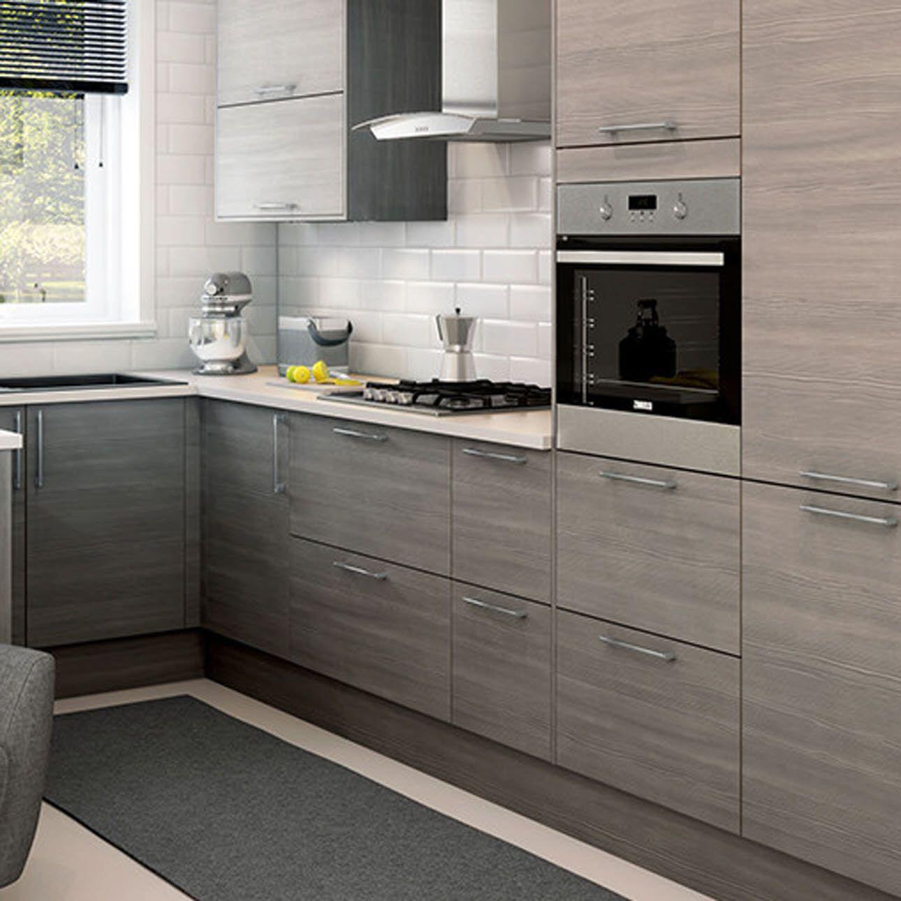 Alpine Grey Melamine Kitchen, Home decor