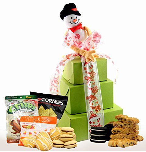 Winter wonderland gluten free gift tower gourmet gift boxes gluten free gift tower gourmet gift boxes are gluten free dairy free and kosher we provide a nut free option all pinterest negle Images