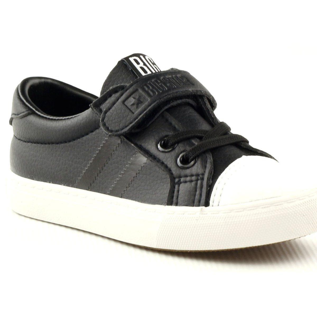 Trampki Sportowe Czarne Big Star 374039 Biale Baby Shoes Sneakers Shoes