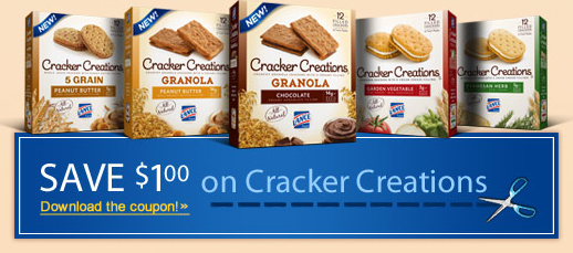 High Value $1/1 Lance Cracker Creations Coupon – Hip2Save