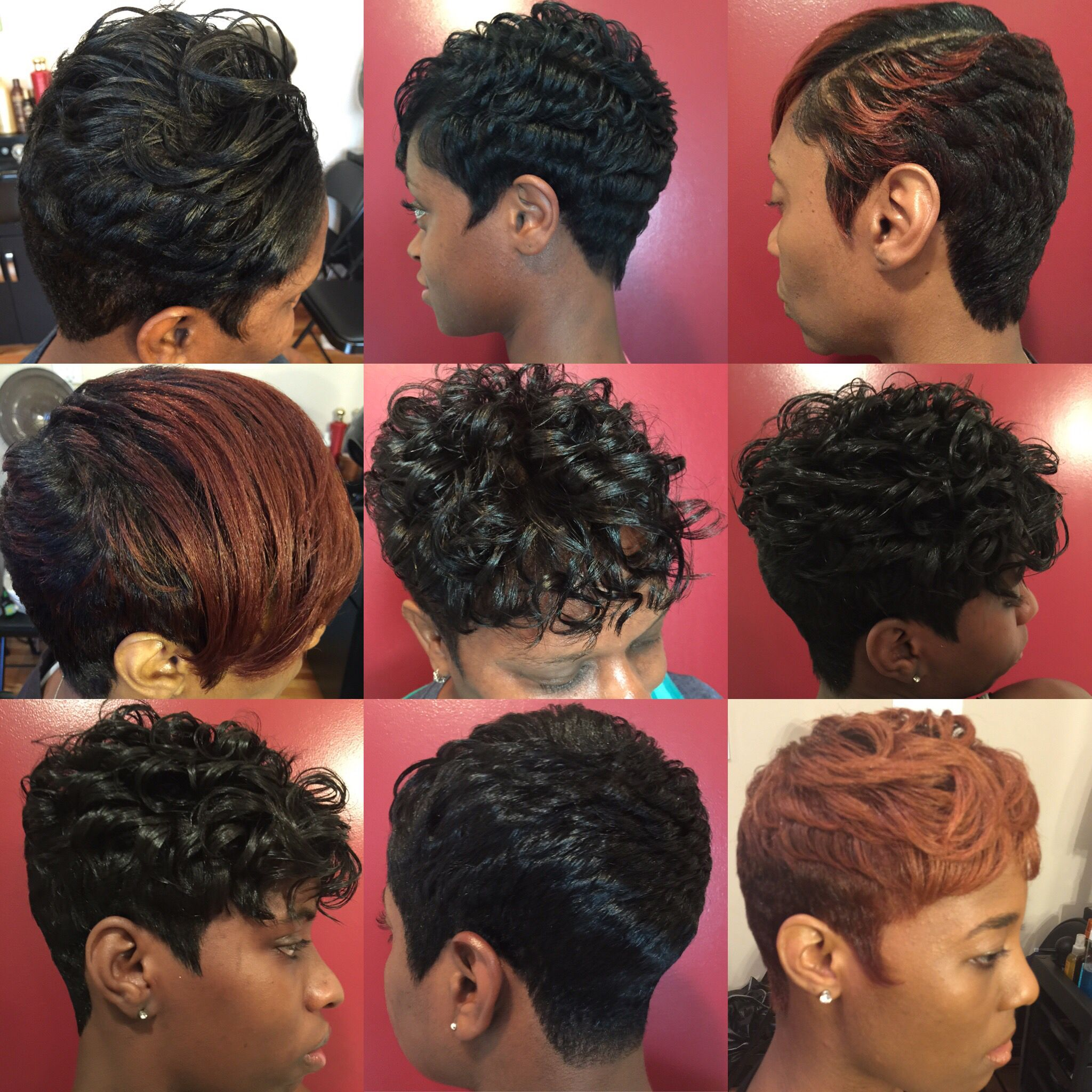 Hair By Raijona Serenity Hair Studio Short Hair Styles Short Permed Hair Hair Styles