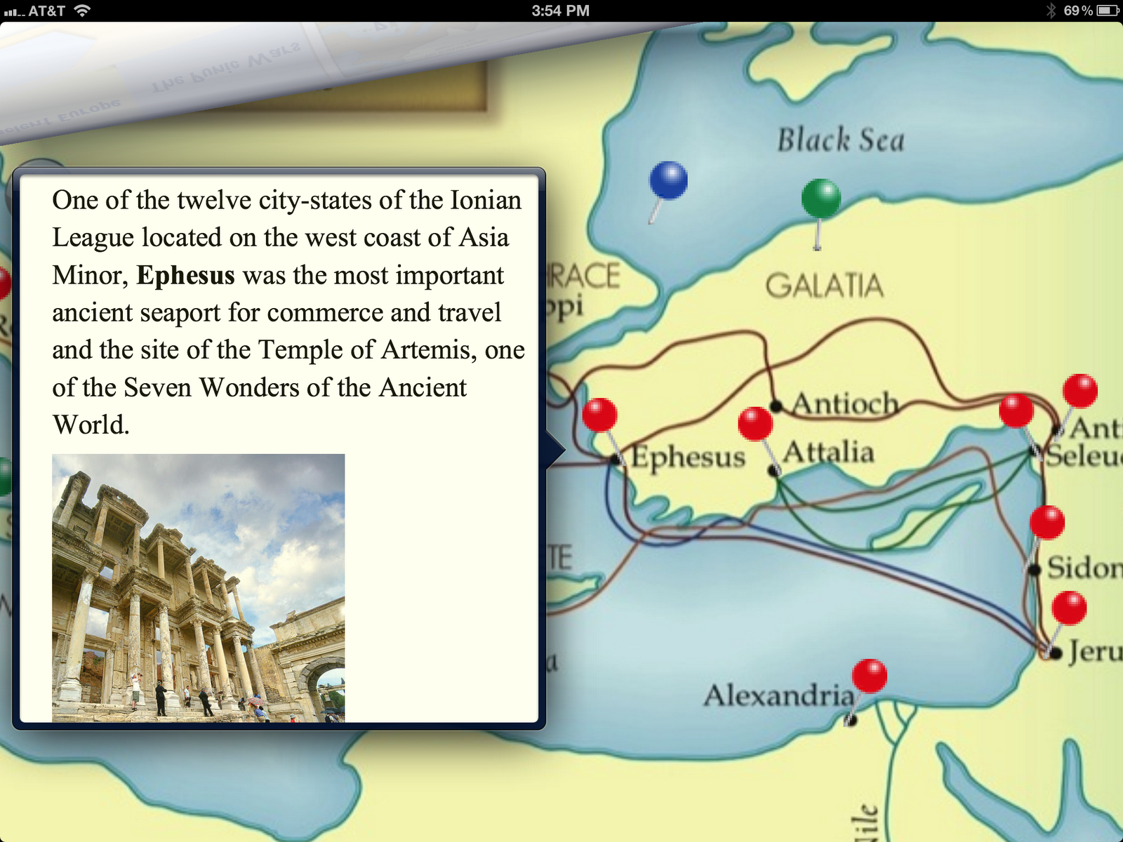 App Review MapTrek Ancient World Ancient history