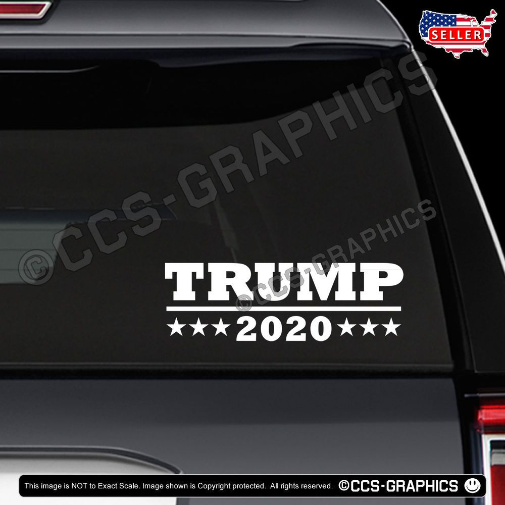 Details About Trump 2020 Decal Sticker 5 Sizes Or Bulk 3
