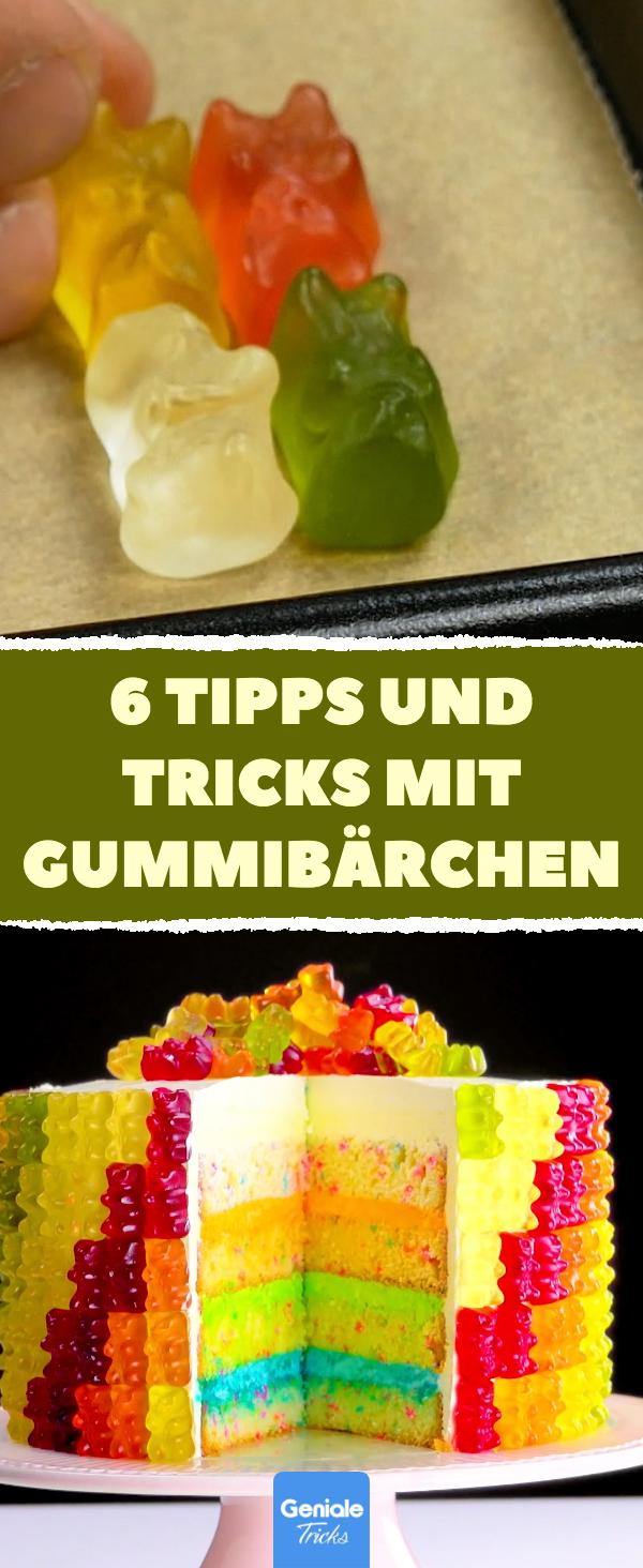 6 witzige Ideen, was du mit Gummibärchen anstellen kannst