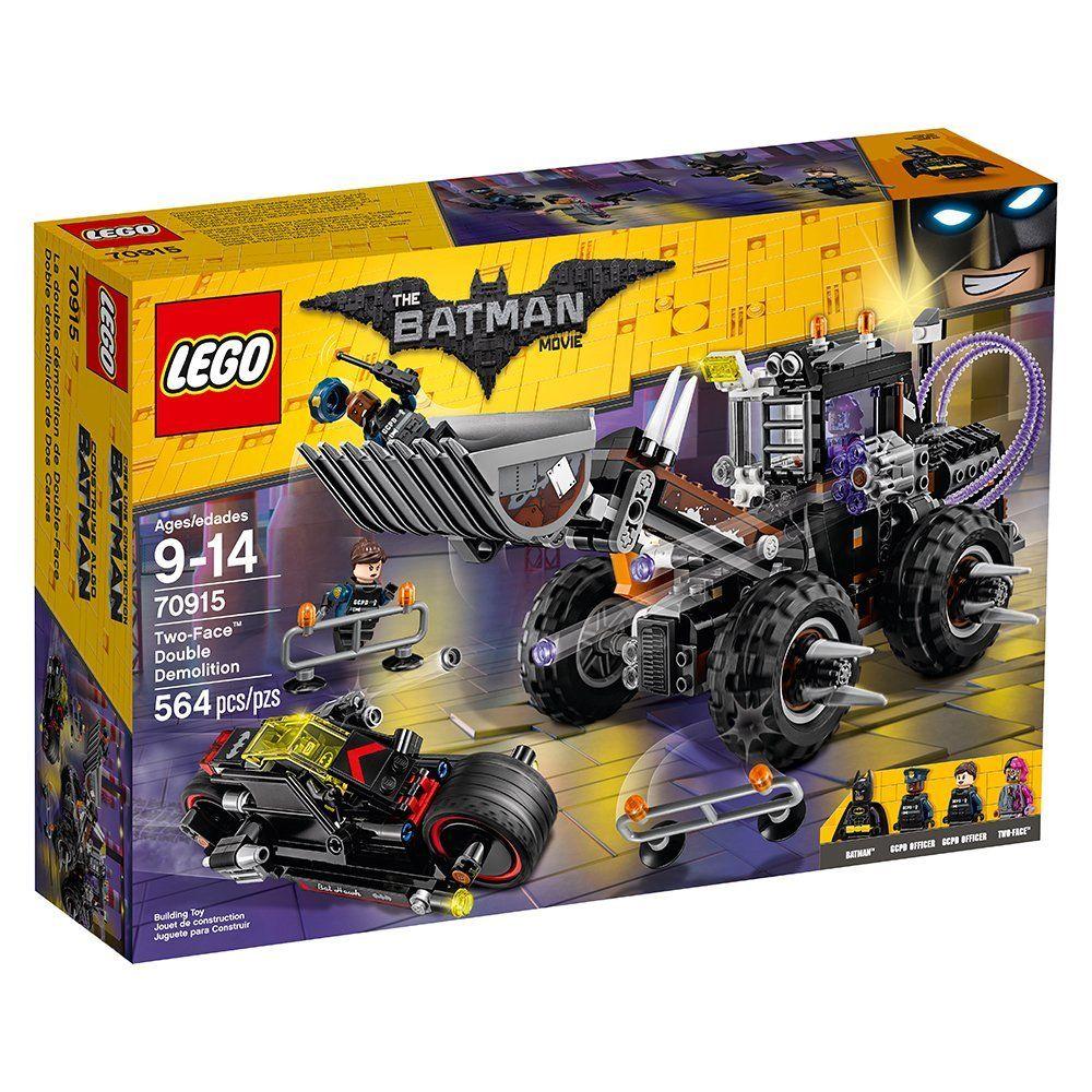 LEGO BATMAN TwoFace Double Demolition 35.99! Lego