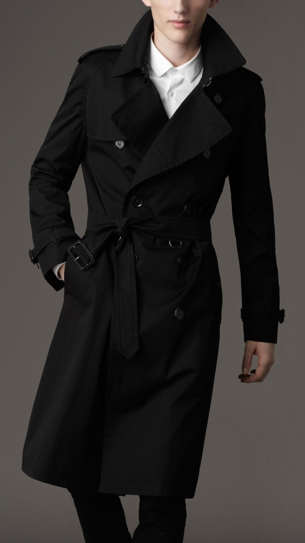 Burberry London Mens Long Back Pleat Trench Coat 3 Jpg 1050 1867 Trench Coat Men Men S Trench Coat Trench Coat