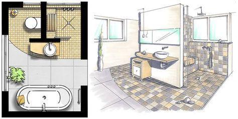 Kleine Bäder gestalten Tipps & Tricks für's kleine Bad in