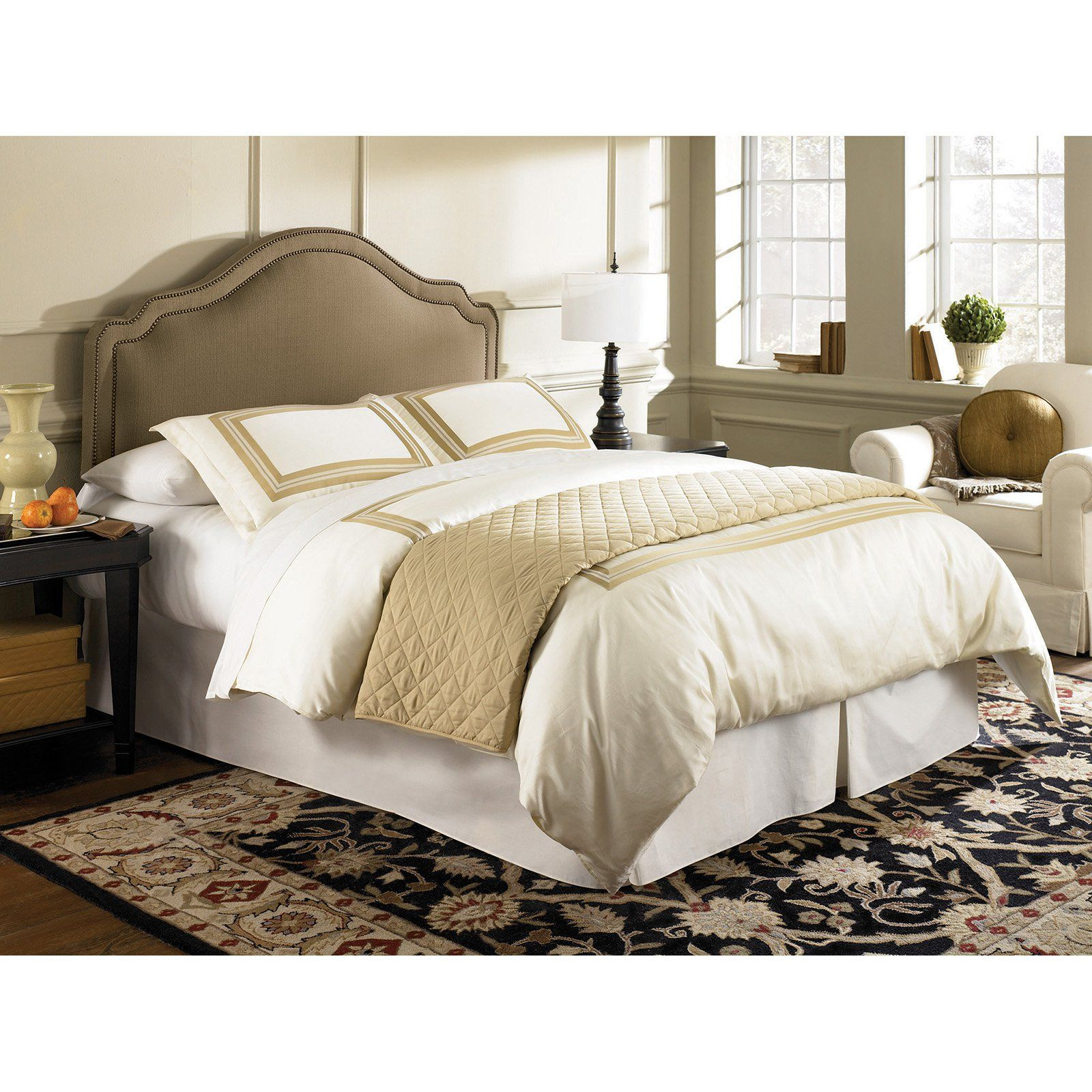 Fashion Bed Group Versailles Upholstered Headboard, Size