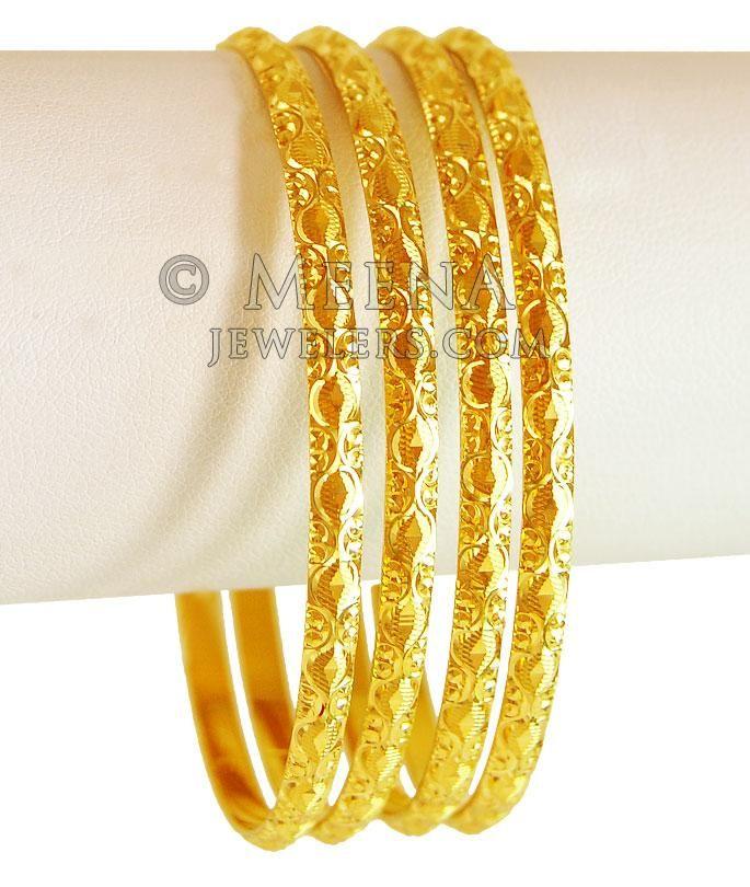 gold bangle kangan designs with price and weight anitha