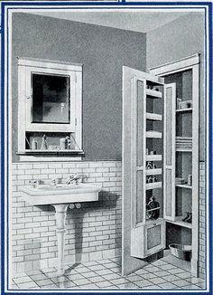 vintage bathroom cabinets for storage. 1920\u0027s Bath Storage. \ Vintage Bathroom Cabinets For Storage 2