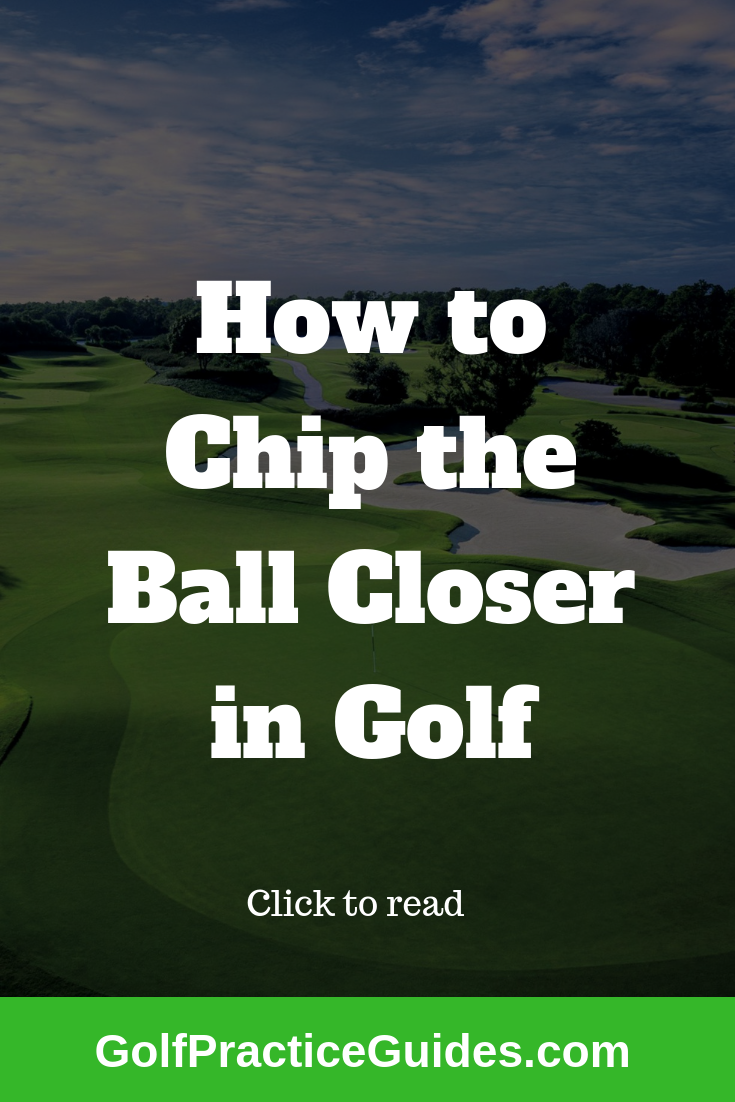 Short Game Practice Plan Golf academy, Chipping tips, Golf