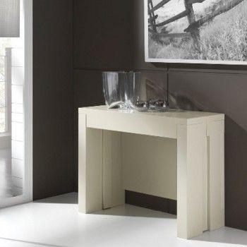 Mesa consola extensible silvia s50 cerrada 100 40cm abierta 140 100cm 950 muebles cl sicos - Mesa consola ikea ...