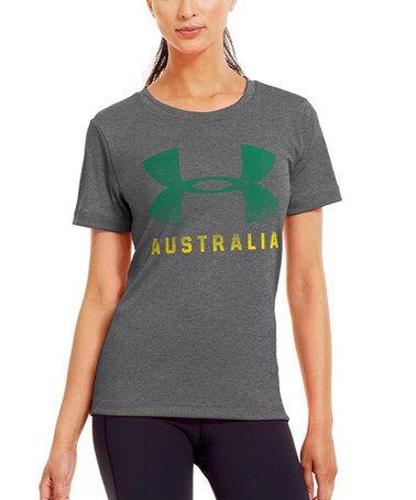 Carbon Heather 'Australia' Pride Tee #zulily #zulilyfinds P. Sherman 42 wallaby way, sydney